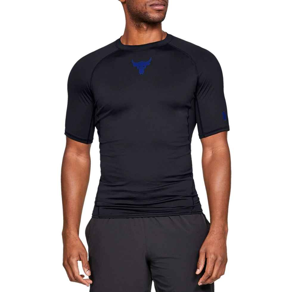 Project Rock UnderArmour X Heatgear Compression Armour Short Sleeve